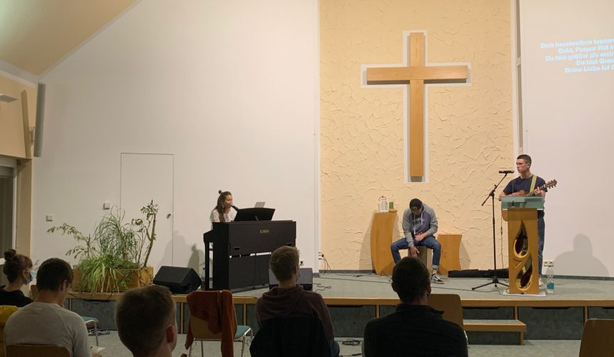 Praystation in Hilmersdorf