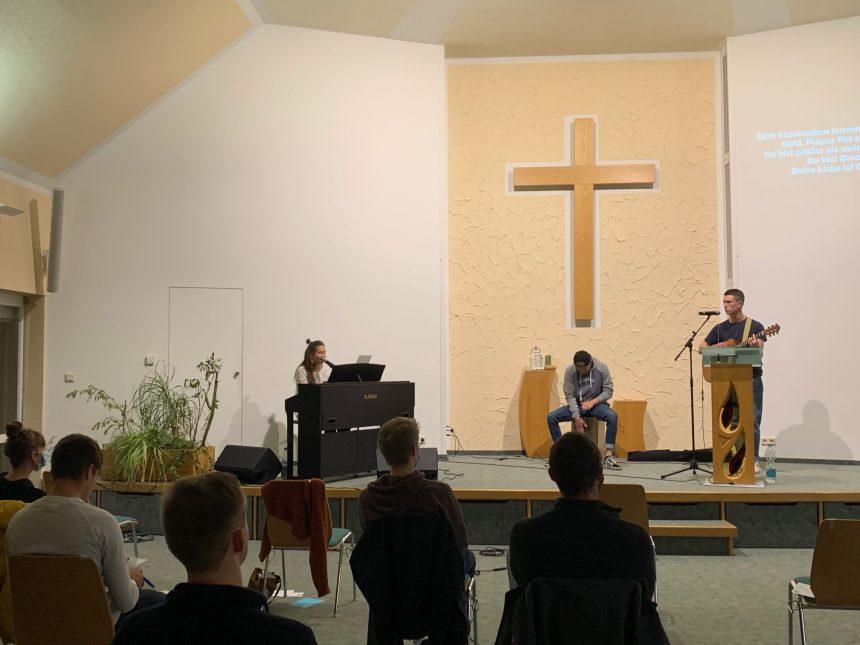 Praystation in Hilmersdorf